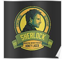 Brownstone Brewery: Sherlock Holmes Honey Lager Poster