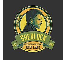 Brownstone Brewery: Sherlock Holmes Honey Lager Photographic Print