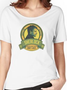 Brownstone Brewery: Sherlock Holmes Honey Lager Women's Relaxed Fit T-Shirt