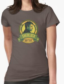 Brownstone Brewery: Sherlock Holmes Honey Lager Womens Fitted T-Shirt
