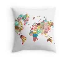 Be An Explorer Of The World Throw Pillow