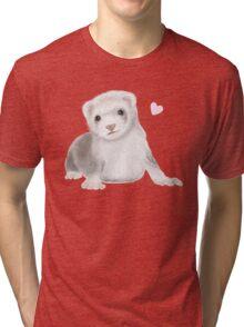 Ferret Love Tri-blend T-Shirt