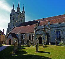 Church of St John the Baptist, Penshurst by Kim Slater