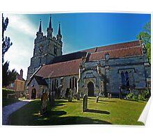 Church of St John the Baptist, Penshurst Poster