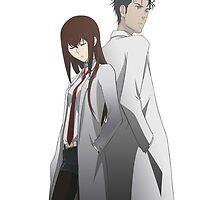 Steins;Gate Scientist Duo by Shizuh