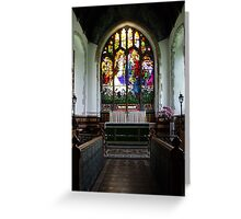 St Andrews Church, Wickhambreaux. Greeting Card