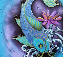 Dragon Fish by Laura Barbosa