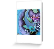 Dragon Fish Greeting Card