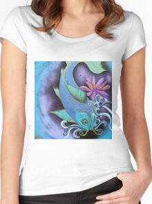 Dragon Fish Women's Fitted Scoop T-Shirt