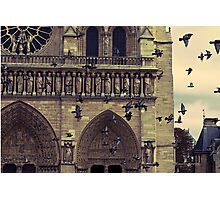 Notre-Dame de Paris Cathedral Photographic Print