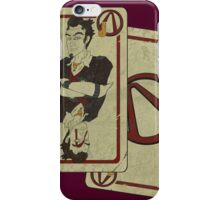 Handsome Black Jack (whith effect) iPhone Case/Skin