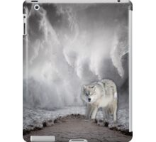 Wolf in the Middle of a Storm iPad Case/Skin