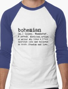 Bohemian Men's Baseball ¾ T-Shirt
