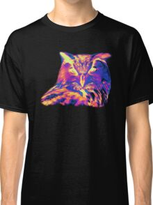 Psychedelic Spectrum Owl Classic T-Shirt