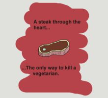 How to kill a vegetarian by divad84