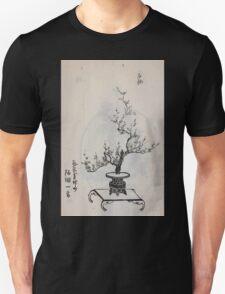 Yenshu ryu ikebana hiak bin no zu shiki konzatsu Flower arrangement in the Enshu style V1 1897 0045 T-Shirt