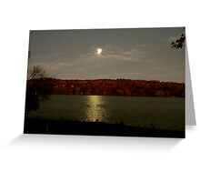 Moon shots Greeting Card