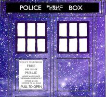 Shiny Police Box. Sticker