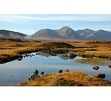 Rannoch Moor - After the Mist Photographic Print