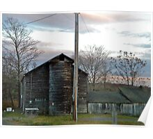 old barn in New Paltz Poster