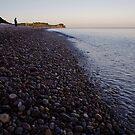 Budleigh Salterton Beach by Sam Mortimer