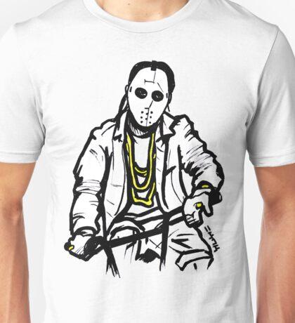 Masked Angel Riding Unisex T-Shirt