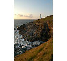 Trevose Head Lighthouse - North Cornwall Photographic Print