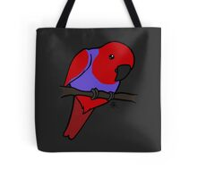 Eclectus Parrot (female) Tote Bag