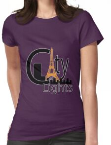 City of Lights (Paris) Womens Fitted T-Shirt