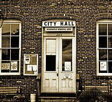Jacksonville, Oregon, USA, City Hall circa 1880 by Bob Hortman