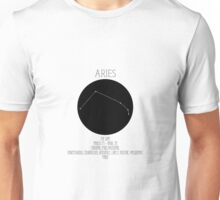 Aries Star Sign Unisex T-Shirt