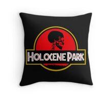 Jurassic Park Dinosaur Logo Throw Pillow