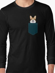 Teagan - Corgi Welsh Corgi gift phone case design for pet lovers and dog people Long Sleeve T-Shirt