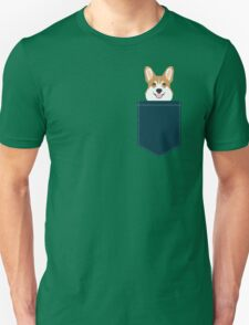 Teagan - Corgi Welsh Corgi gift phone case design for pet lovers and dog people Unisex T-Shirt