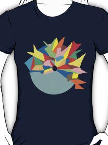 Abstract Colour Circle T-Shirt