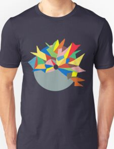 Abstract Colour Circle Unisex T-Shirt