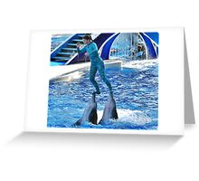 Eco friendly transport..... Greeting Card