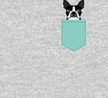 Logan - Boston Terrier pet design with bold and modern colors for pet lovers T-Shirt