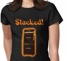Stacked! Womens Fitted T-Shirt
