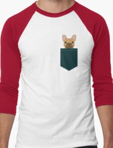 Willow - French Bulldog phone case art design for dog lovers and dog people Men's Baseball ¾ T-Shirt