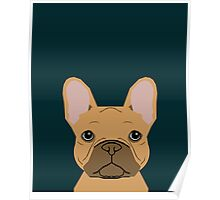Willow - French Bulldog phone case art design for dog lovers and dog people Poster