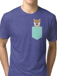 Cassidy - Shiba Inu cute gifts funny dog gifts for cell phone case dog lover gifts for dog person Tri-blend T-Shirt