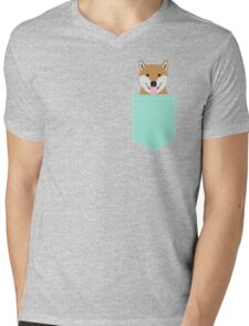 Cassidy - Shiba Inu cute gifts funny dog gifts for cell phone case dog lover gifts for dog person Mens V-Neck T-Shirt