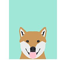 Cassidy - Shiba Inu cute gifts funny dog gifts for cell phone case dog lover gifts for dog person Photographic Print