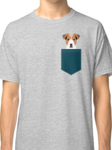 Bailey - Jack Russell Terrier phone case art print gift for dog people Jack Russell Terrier owners Classic T-Shirt