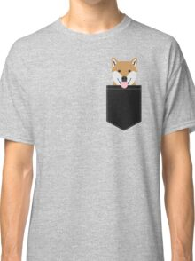 Indiana - Shiba Inu gift design for dog lovers and dog people Classic T-Shirt