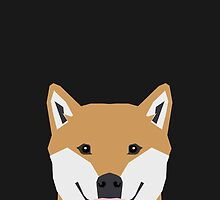 Indiana - Shiba Inu gift design for dog lovers and dog people by PetFriendly