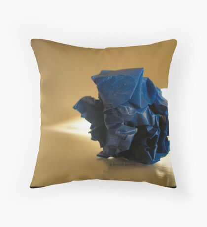 Even the Garbage Throw Pillow