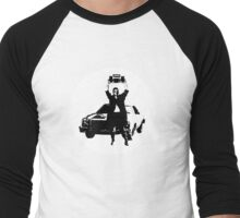 Hold This Radio Men's Baseball ¾ T-Shirt