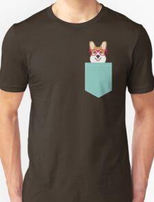 Teagan Glasses Corgi cute puppy welsh corgi gifts for dog lovers and pet owners love corgi puppies T-Shirt